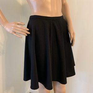 LC Lauren Conrad Vintage Charm Ponte Circle Skirt